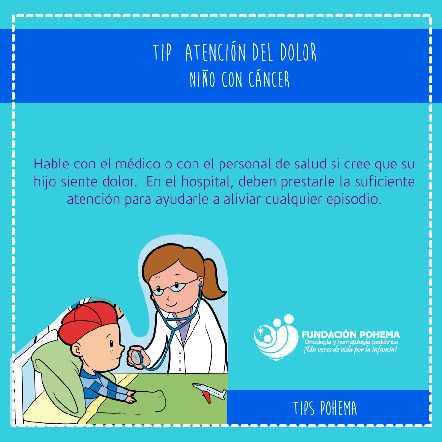 Atención del dolor en el niño con cáncer