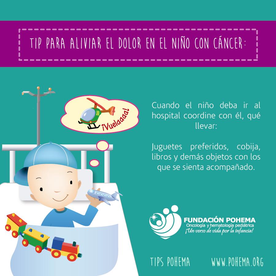 Aliviar el dolor en el niño con cáncer