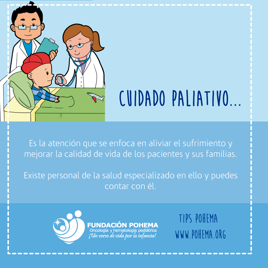 TIPS POHEMA Niños con cáncer cuidados paliativos